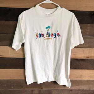 Vintage San Diego Women's Shirt size Medium